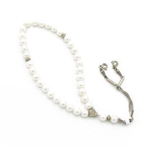 Růženec – Perla – bílý
