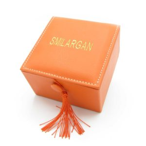 Krabička – šperkovnice Smilargan – oranžová