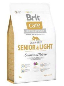 Brit Care Dog Grain-free Senior & Ligh Salmon 3 kg