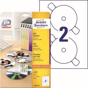 Etikety na DVD   L7860-20