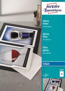 Lesklá samolepící fólie | Inkjet | 2507