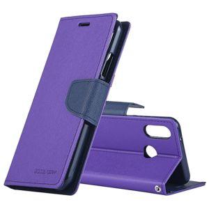 Pouzdro / kryt pro Huawei P20 – Mercury, Fancy Diary Purple/Navy