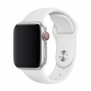 Řemínek pro Apple Watch 42mm / 44mm – Devia, Sport White