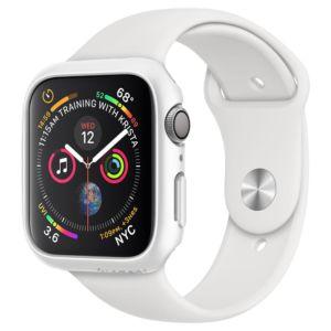 Pouzdro / kryt pro Apple Watch 44mm – Spigen, Thin Fit White