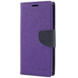 Pouzdro / kryt pro Samsung Galaxy S9 – Mercury, Fancy Diary Purple/Navy