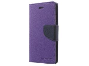 Pouzdro / kryt pro Samsung Galaxy NOTE 9 – Mercury, Fancy Diary Purple/Navy
