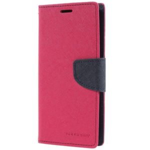 Pouzdro / kryt pro Samsung Galaxy S9 – Mercury, Fancy Diary HotPink/Navy