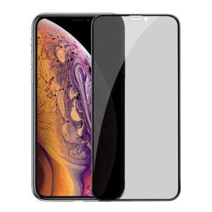 Ochranné tvrzené sklo pro iPhone XS MAX / 11 Pro MAX – Hoco, A13 Shatterproof 3D Anti-Spy