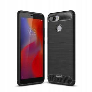 Ochranný kryt pro Xiaomi Redmi 6 – Tech-Protect, Tpucarbon Black