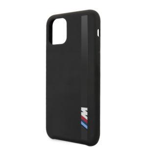 Ochranný kryt na iPhone 11 – BMW, Vertical Sripe Cover Black