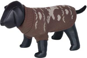 Nobby HIRSCHI svetr pro psy se sobem hnědá 40cm