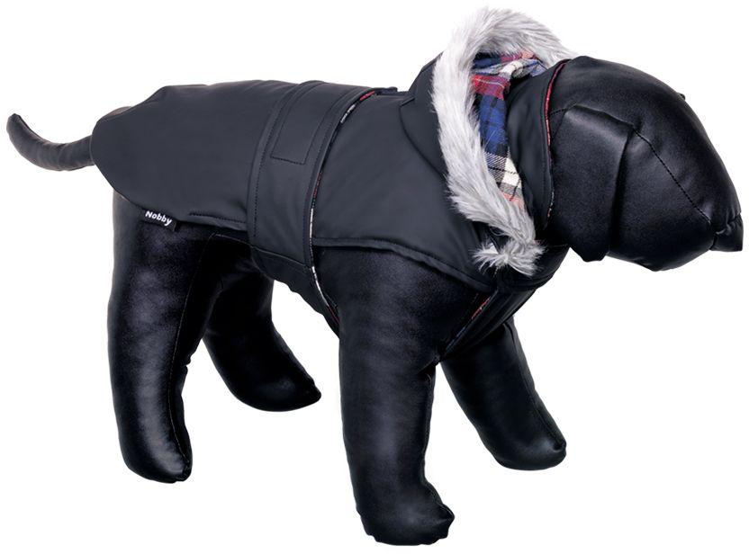 Nobby Marian obleček pro psa s kapucí černá 55cm