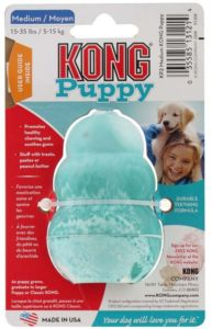 Kong Puppy Classic Medium gumová hračka 8cm