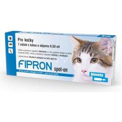 Fipron 50mg Spot-On Cat sol 3×0,5ml