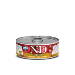N&D CAT QUINOA Quail & Coconut 80g