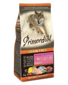 Primordial Grain Free Puppy Chicken & Seafish 12kg