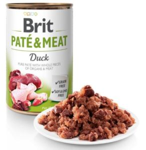 Brit Dog konz Paté & Meat Duck 400g