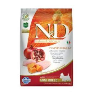 N&D Grain Free Dog Pumpkin Dog Adult Mini Chicken & Pomegranate