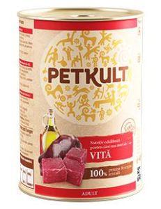 PETKULT dog konz. ADULT 800g – Hovězí
