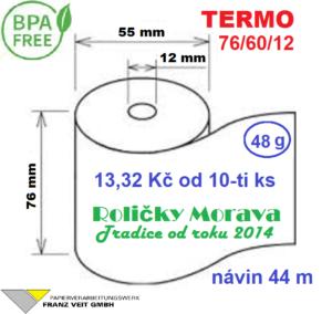 Termo 76/60/12 44 m BPA Free