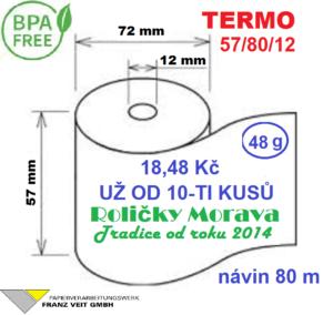 Termo 57/80/12 80 m BPA Free