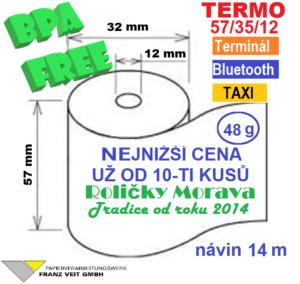 Termo 57/35/12 14 m BPA Free