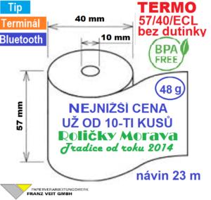 Termo 57/40/ECL 23 m BPA Free
