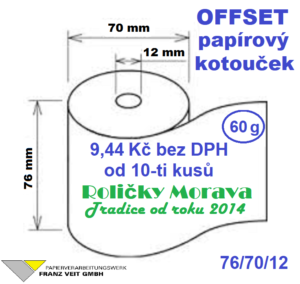 Offset 76/70/12 38 m