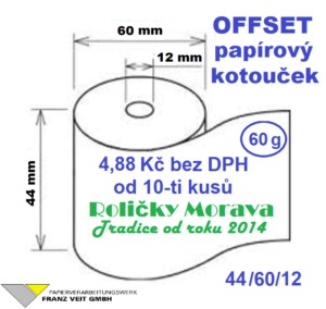 Offset 44/60/12 27 m