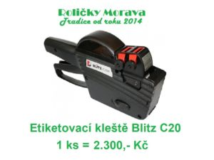 Etiketovací kleště Blitz C20