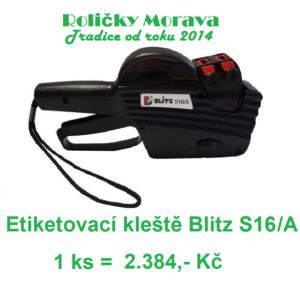 Etiketovací kleště Blitz S16A