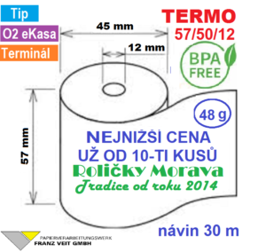Termo 58/50/12 30 m BPA Free