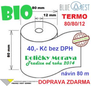 Termo 80/80/12 BIO BLUE4EST