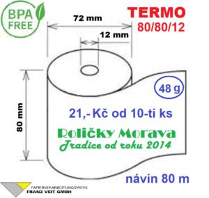Termo 80/80/12 80 m BPA Free