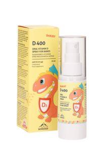 Vitamin D3 ve spreji 400 IU pro děti
