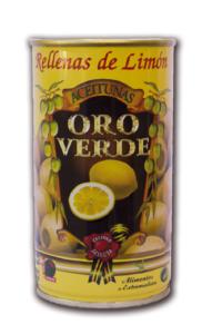 Olivy plnené citronem