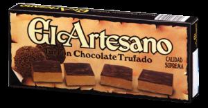 čokoláda s náplní čokoládových lanýžů 200 grs