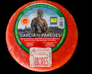 Queso Ibores Garcia de Paredes vyzrálý kozí sýr cca 0,85 Kg
