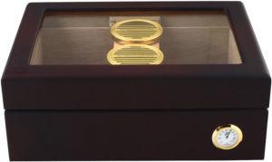 Humidor PL Mahagon prosklený (75 cigars)