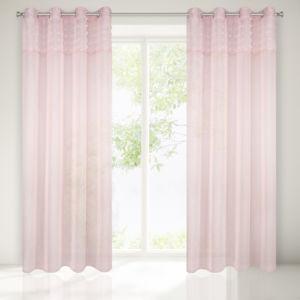 Dekorační záclona ARIETTA růžová 140×250 cm MyBestHome