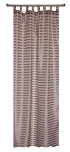 Dekorační záclona FARO čokoládová 140×245 cm MyBestHome