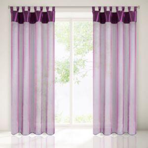 Dekorační záclona LIANA fialová 140×250 cm MyBestHome
