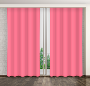 Dekorační závěs 19 tmavě růžová 160×250 cm MyBestHome