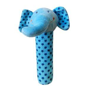 Dětská plyšová pískací hračka – slůně 18×6 cm