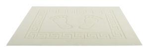 Koupelnová předložka WELLSOFT, krémová, 50×70 cm, Mybesthome