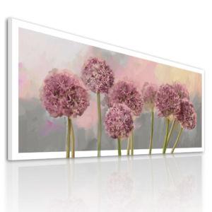 Obraz na plátně GARLIC FLOWER A různé rozměry Ludesign
