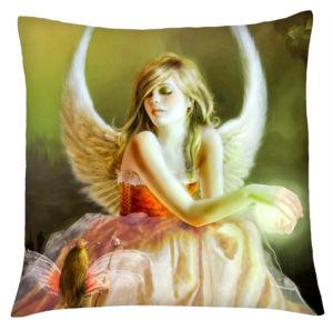 Polštář andělé 04 béžová Mybesthome 40×40 cm