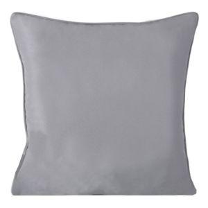 Polštář EASY COLOR stříbrná 40×40 cm Mybesthome