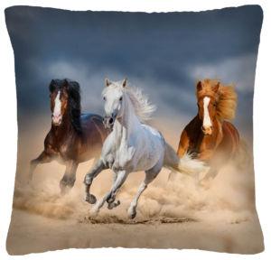 Polštář s motivem koně 30 Mybesthome 40×40 cm