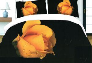 Povlečení 3D KVĚTY 171 – 1x 140×200 cm, 2x povlak 70×80 cm MyBestHome
